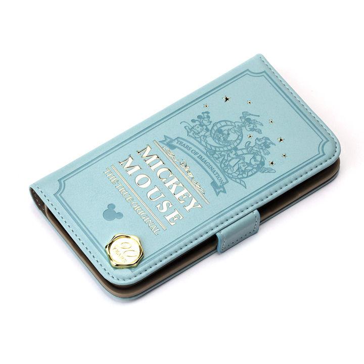 iPhone XS/X ケース iJacket 手帳型ケース ミッキーマウス/グリーン iPhone XS/X_0