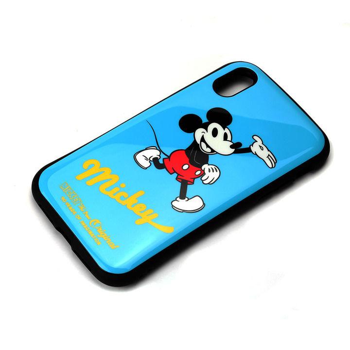 iPhone XR ケース Premium Style ハイブリッドタフケース ミッキーマウス/ブルー iPhone XR_0