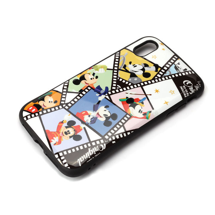 iPhone XS Max ケース Premium Style ハイブリッドタフケース ミッキーマウス/フィルム iPhone XS Max_0