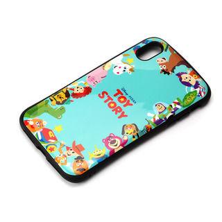 【iPhone XS Maxケース】Premium Style ハイブリッドタフケース トイ・ストーリー/グリーン iPhone XS Max