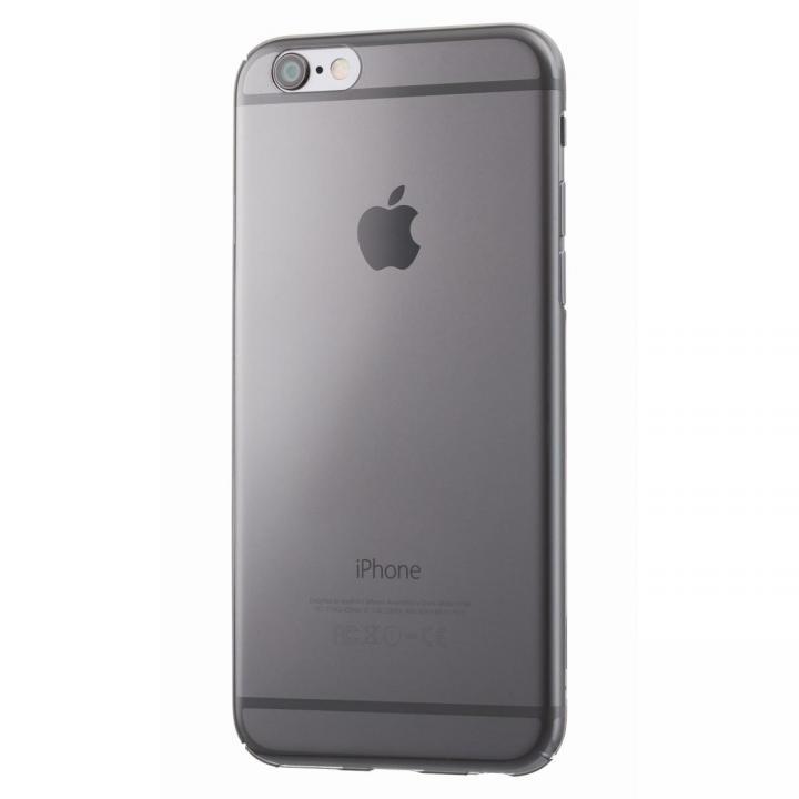 iPhone6s/6 ケース 極薄クリアハードケースEQUAL ultrathin ブラック iPhone 6s/6_0