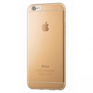 極薄クリアハードケースEQUAL ultrathin ゴールド iPhone 6s/6