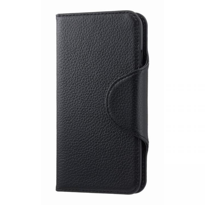【iPhone6s/6ケース】本革手帳型ケース EQUAL folio ブラック iPhone 6s/6_0