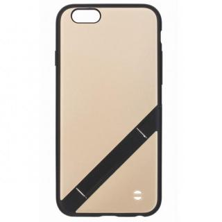 【iPhone6s/6ケース】スタンド機能付きハードケース EQUAL stand ゴールド iPhone 6s/6_1
