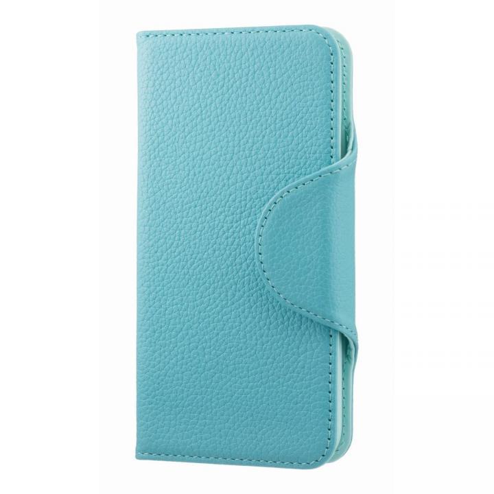 iPhone6s/6 ケース 本革手帳型ケース EQUAL folio エメラルドブルー iPhone 6s/6_0