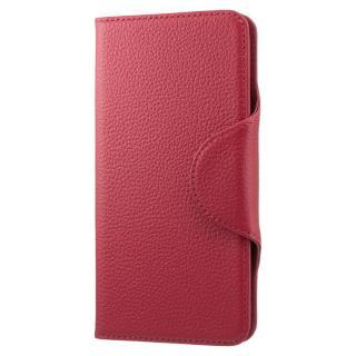 本革手帳型ケース EQUAL folio レッド iPhone 6s Plus/6 Plus