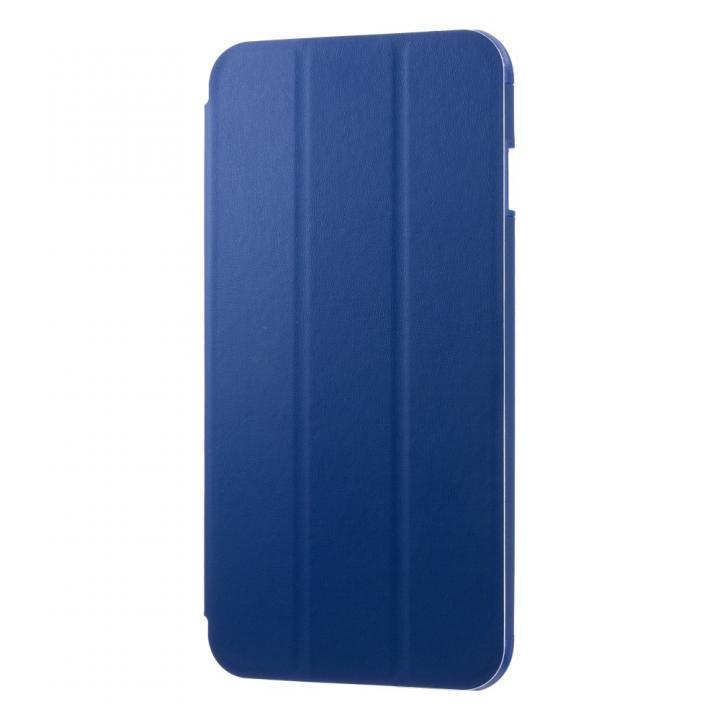 スタンド機能付き手帳型ケース EQUAL fold ネイビーブルー iPhone 6s Plus/6 Plus