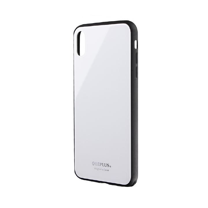 iPhone XS Max ケース 背面ガラスシェルケース「SHELL GLASS」 ホワイト iPhone XS Max_0
