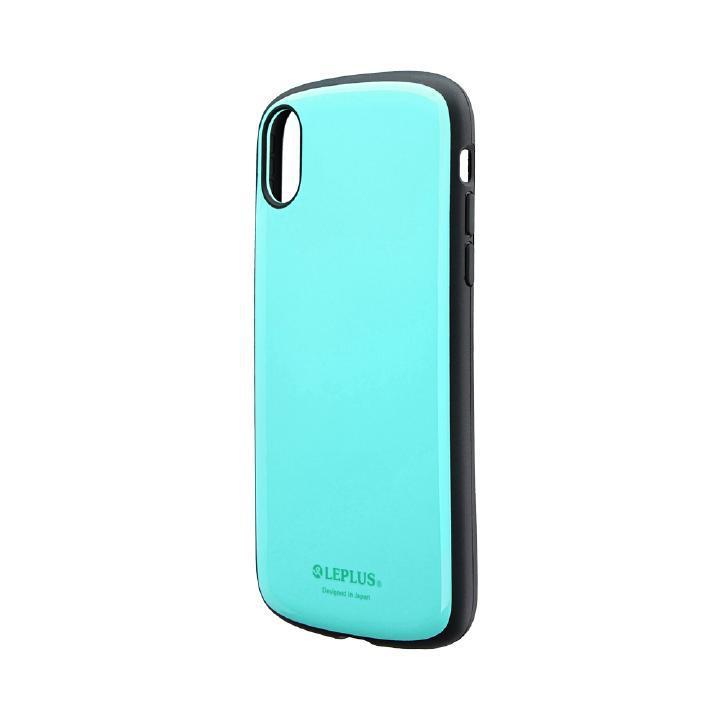 iPhone XR ケース 耐衝撃薄型ハイブリッドケース「PALLET Slim」 ミントグリーン iPhone XR_0