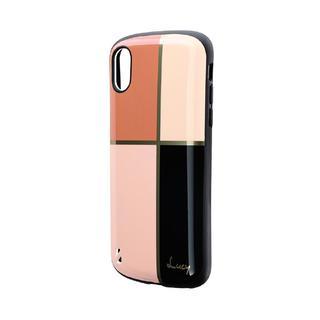 【iPhone XSケース】耐衝撃ハイブリッドケース「PALLET Katie」 パターンA iPhone XS