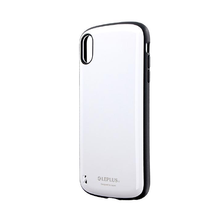 iPhone XS Max ケース 耐衝撃ハイブリッドケース「PALLET」 ホワイト iPhone XS Max_0