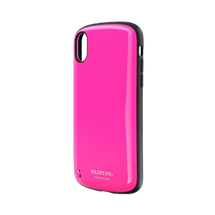 iPhone XR ケース 耐衝撃ハイブリッドケース「PALLET」 ホットピンク iPhone XR_0