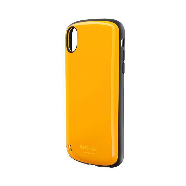 iPhone XR ケース 耐衝撃ハイブリッドケース「PALLET」 オレンジ iPhone XR_0
