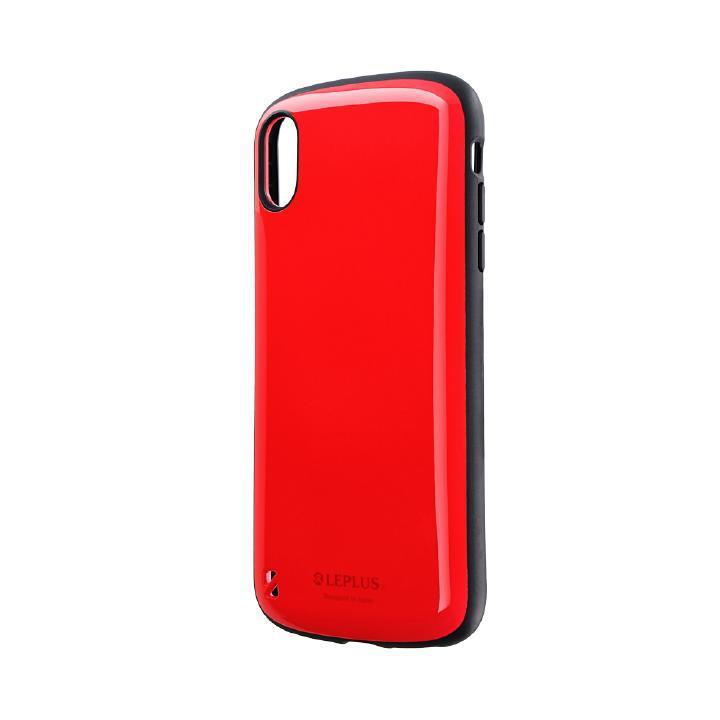 iPhone XS Max ケース 耐衝撃ハイブリッドケース「PALLET」 レッド iPhone XS Max_0