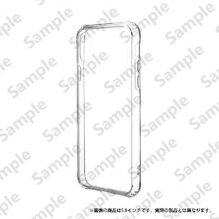 iPhone XR ケース 「剛柔」 超透過・耐傷ケース「ガラスハイブリッドクリア」 クリア iPhone XR