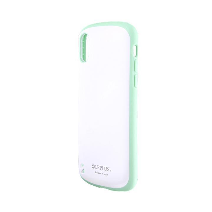 iPhone XS/X ケース 耐衝撃ハイブリッドケース「PALLET White」 ホワイトミント iPhone XS/X_0