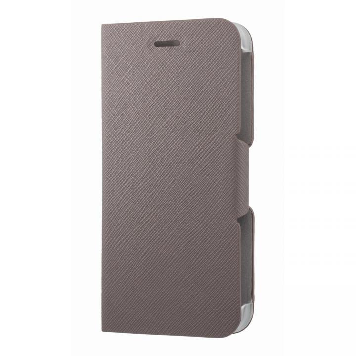 iPhone6s/6 ケース スタンド機能付き手帳型ケース チャコール iPhone 6s/6_0