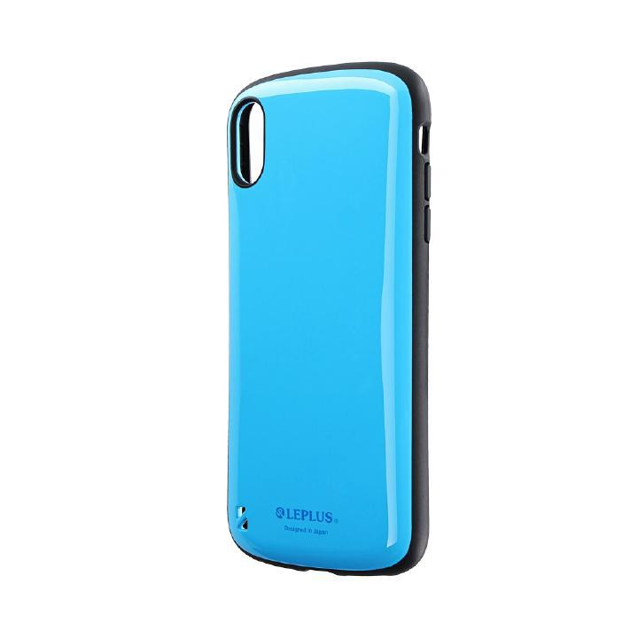 iPhone XS Max ケース 耐衝撃ハイブリッドケース「PALLET」 スカイブルー iPhone XS Max_0