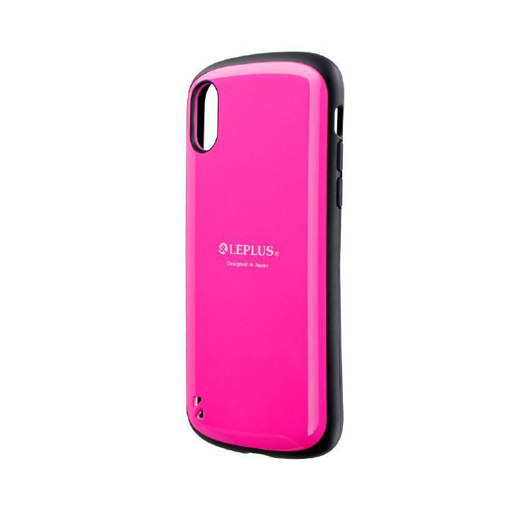 iPhone XS/X ケース 耐衝撃ハイブリッドケース「PALLET」 ホットピンク iPhone XS/X_0