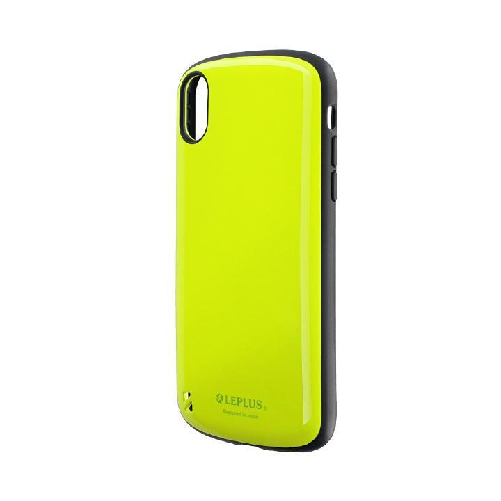 iPhone XR ケース 耐衝撃ハイブリッドケース「PALLET」 グリーン iPhone XR_0