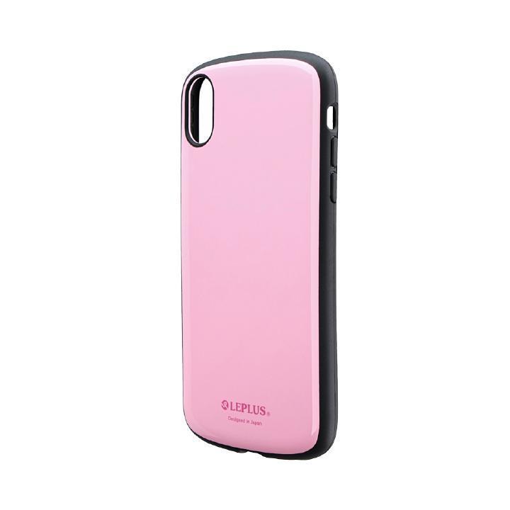 iPhone XR ケース 耐衝撃薄型ハイブリッドケース「PALLET Slim」 ピンク iPhone XR_0