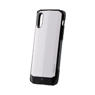 iPhone XS/X ケース 耐衝撃ハイブリッドケース「LEGGERA」 ソリッドホワイト iPhone XS/X