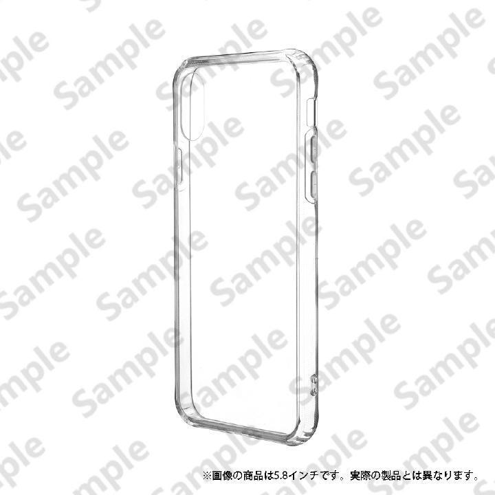 iPhone XR ケース 「剛柔」 超透過・耐傷ケース「ガラスハイブリッドクリア」 クリア iPhone XR_0