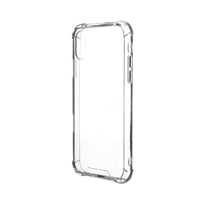 iPhone XS/X ケース 「剛柔」 耐傷・耐衝撃ケース「ハイブリッドクリア」 クリア iPhone XS/X_0