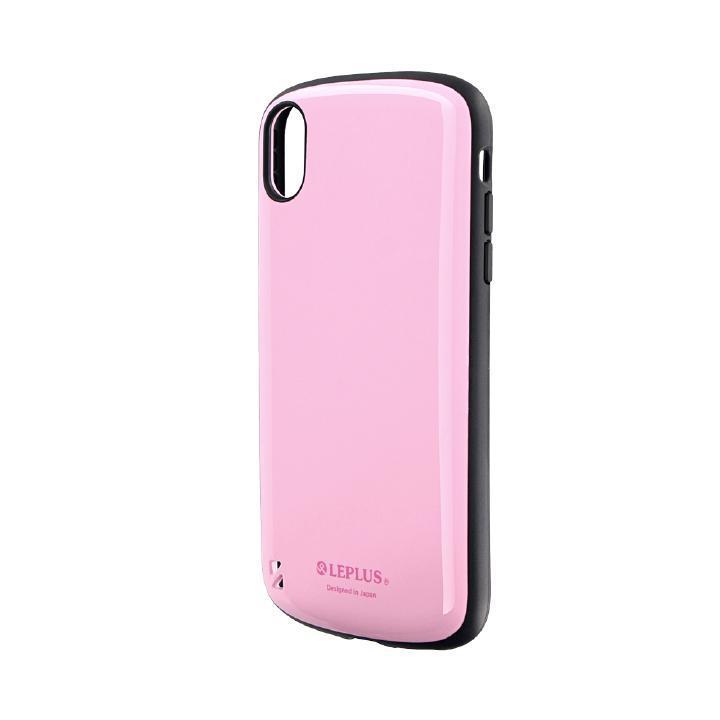 iPhone XR ケース 耐衝撃ハイブリッドケース「PALLET」 ピンク iPhone XR_0