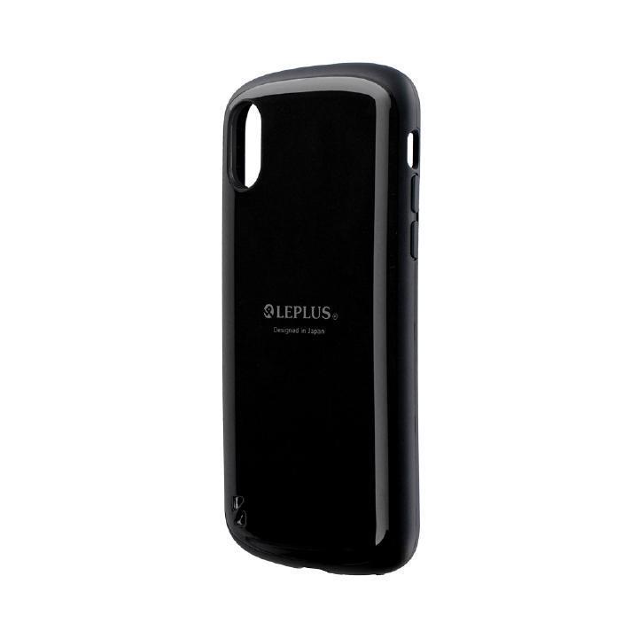 iPhone XS/X ケース 耐衝撃ハイブリッドケース「PALLET」 ブラック iPhone XS/X_0