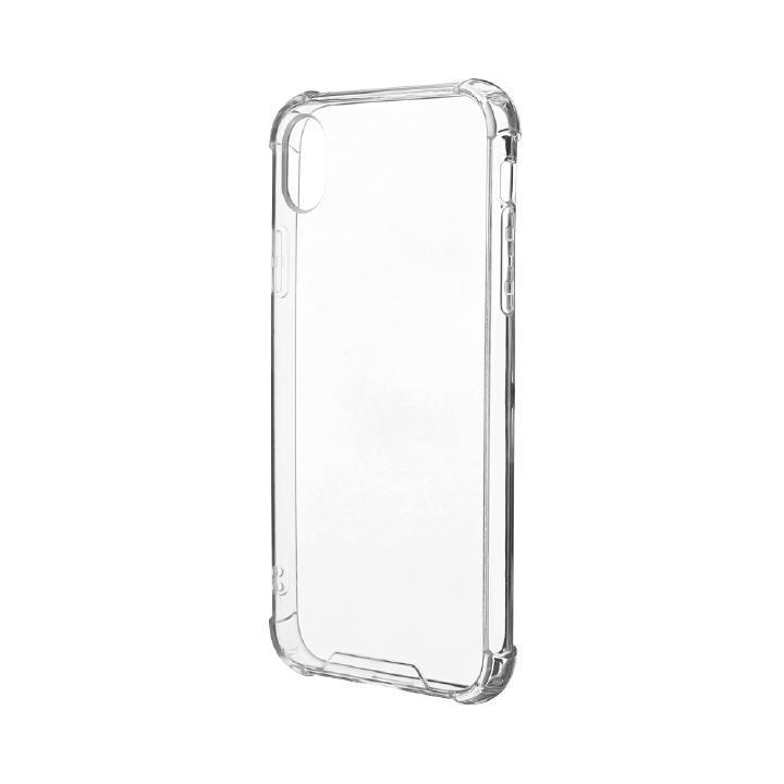 iPhone XR ケース 「剛柔」 耐傷・耐衝撃ケース「ハイブリッドクリア」 クリア iPhone XR_0