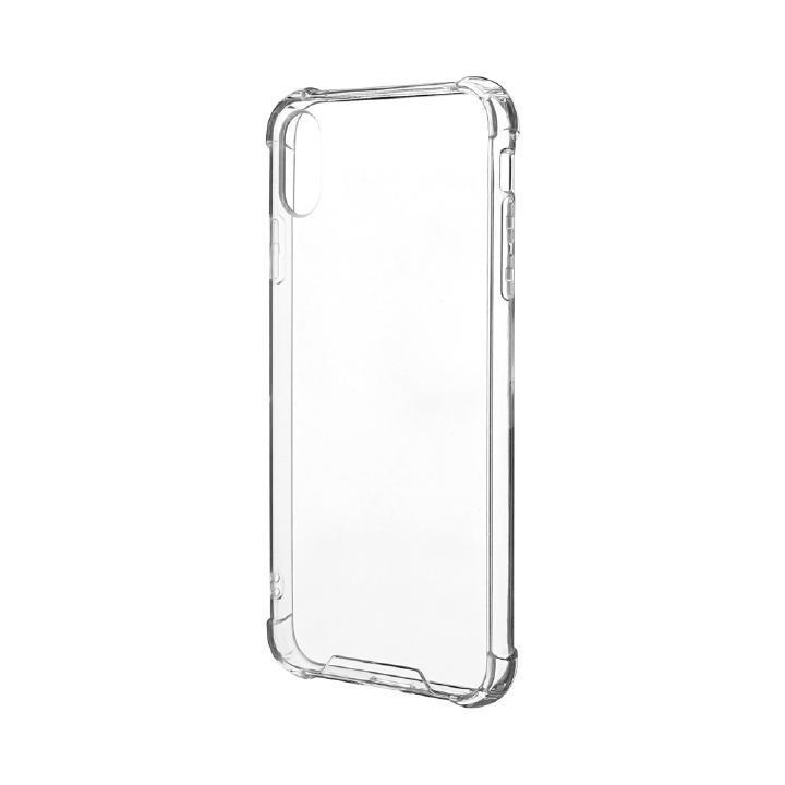 iPhone XS Max ケース 「剛柔」 耐傷・耐衝撃ケース「ハイブリッドクリア」 クリア iPhone XS Max_0