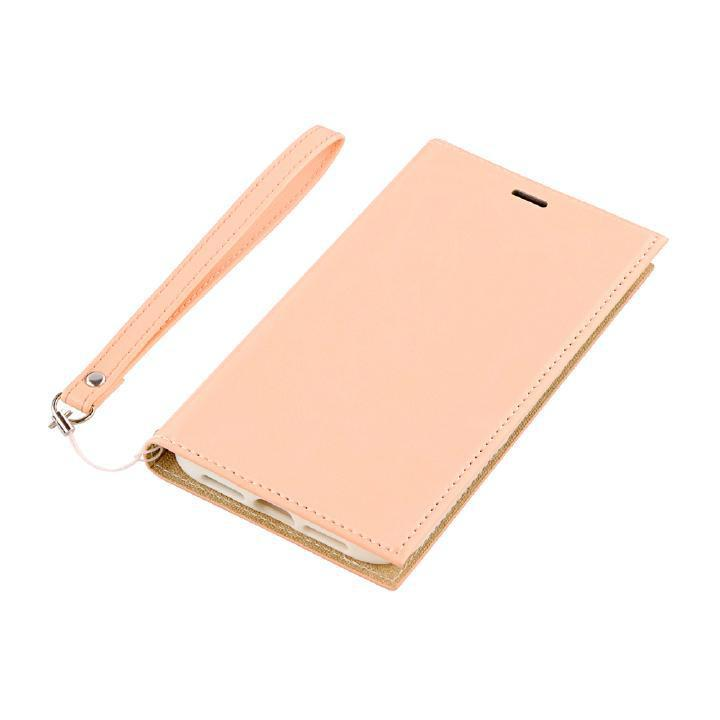 iPhone XR ケース 薄型PUレザー手帳型ケース「PRIME」 ピンクベージュ iPhone XR_0