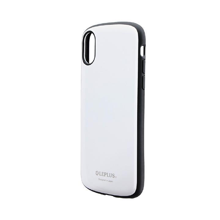 iPhone XS/X ケース 耐衝撃薄型ハイブリッドケース「PALLET Slim」 ホワイト iPhone XS/X_0