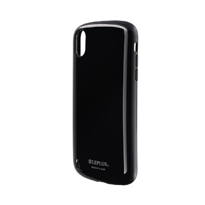 iPhone XR ケース 耐衝撃ハイブリッドケース「PALLET」 ブラック iPhone XR_0