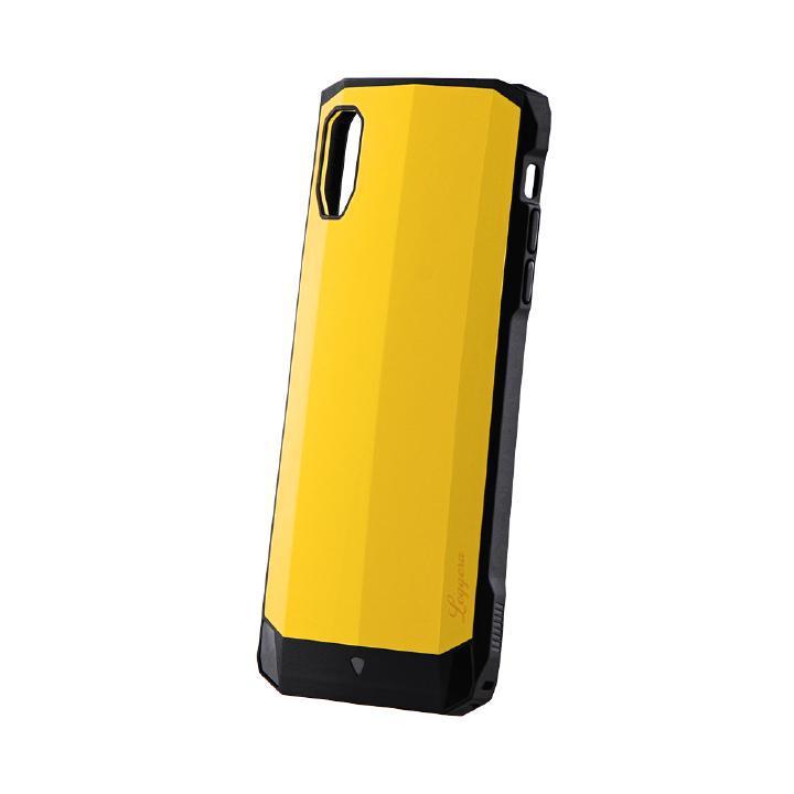iPhone XS Max ケース 耐衝撃ハイブリッドケース「LEGGERA」 ソリッドイエロー iPhone XS Max_0