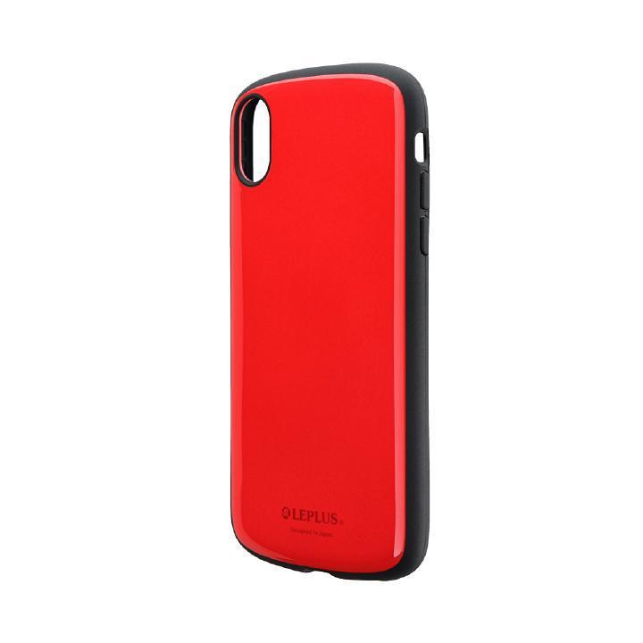 iPhone XR ケース 耐衝撃薄型ハイブリッドケース「PALLET Slim」 レッド iPhone XR_0