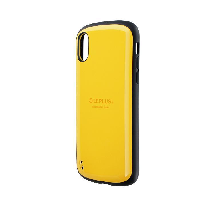 iPhone XS/X ケース 耐衝撃ハイブリッドケース「PALLET」 イエロー iPhone XS/X_0