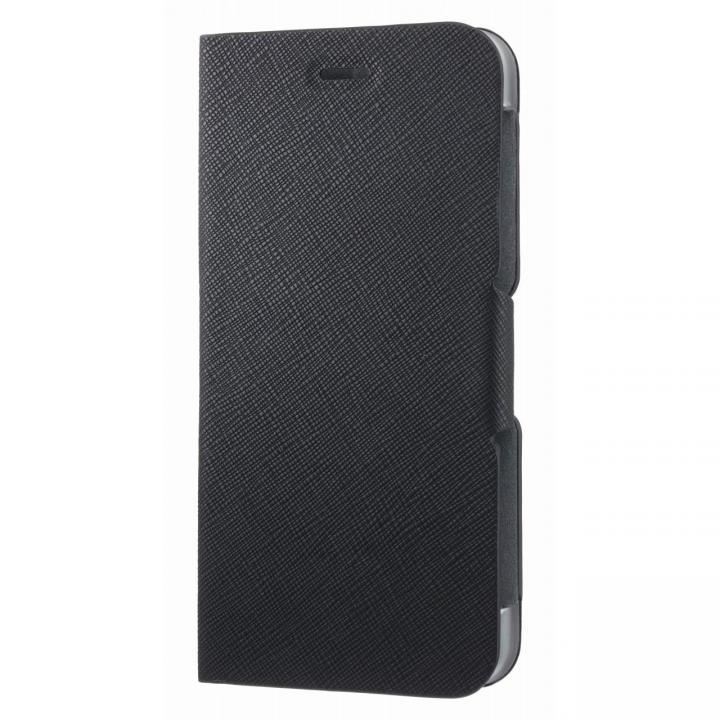 スタンド機能付き手帳型ケース ブラック iPhone 6s Plus/6 Plus