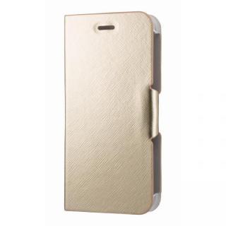 iPhone6s/6 ケース スタンド機能付き手帳型ケース ゴールド iPhone 6s/6