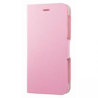 スタンド機能付き手帳型ケース ピンク iPhone 6s Plus/6 Plus