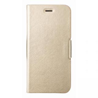 【iPhone6s Plus/6 Plusケース】スタンド機能付き手帳型ケース ゴールド iPhone 6s Plus/6 Plus