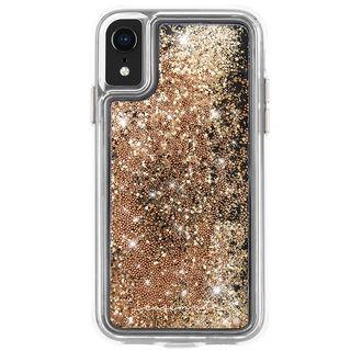 iPhone XR ケース Case-Mate Waterfall ケース gold iPhone XR