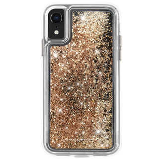 iPhone XR ケース Case-Mate Waterfall ケース gold iPhone XR