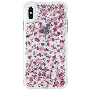 【iPhone XS Maxケース】Case-Mate Karat Petals ワイヤレス充電対応 押し花ケース pink iPhone XS Max