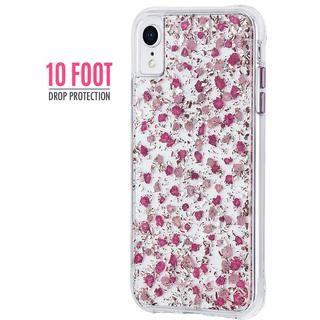 【iPhone XRケース】Case-Mate Karat Petals ワイヤレス充電対応 押し花ケース pink iPhone XR_1