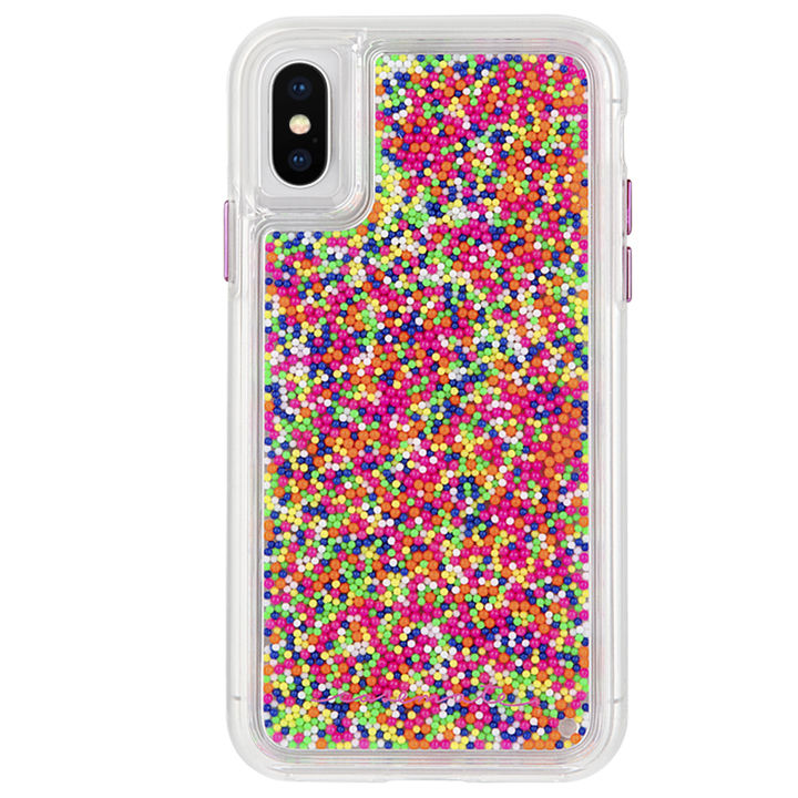 【iPhone XS/Xケース】Case-Mate Sprinkles ケース colorful iPhone XS/X_0