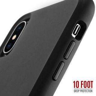 【iPhone XRケース】Case-Mate Tough Clear ケース Matte Black iPhone XR_5