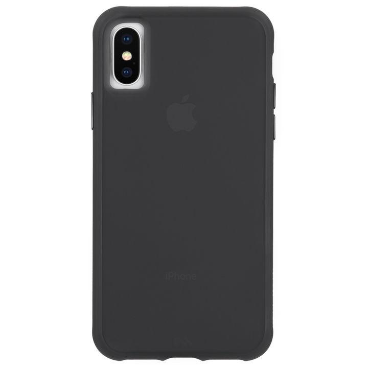 【iPhone XRケース】Case-Mate Tough Clear ケース Matte Black iPhone XR_0