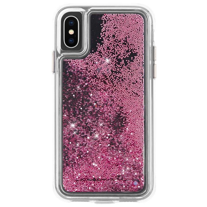 iPhone XS/X ケース Case-Mate Waterfall ケース pink iPhone XS/X_0